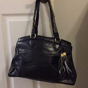 Black purse